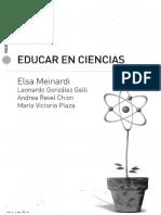 Educar en Ciencias Meinardi PDF