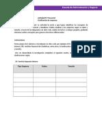 Actividad Programa de Beneficios y Compensaciones
