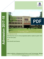IIEST Brochure 17-18