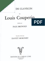 Piezas de Clavecín - Louis Couperin