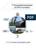 8th International Symposium on NDT in Aerospace - Proceedings