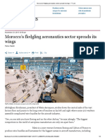 Morocco's Fledgling Aeronautics Sector Spreads Its Wings - FT