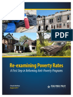 Re-examining Poverty CEF Chuck DeVore