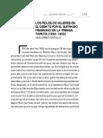Mexico, Debates en La Prensa
