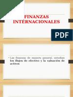 Entorno Global y Las Finanzas