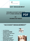 Account Management Basic Poltekes 2012