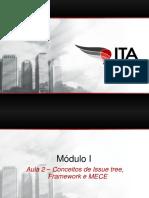 ITA Consulting Club - Módulo I - Aula 2 - Conceitos de Issue Tree, Framework e MECE