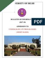 Delhi University Undergraduate Bulletin 2017.pdf