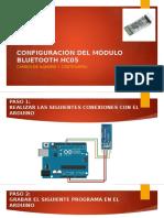 Configuración de Módulo Bluetooth Hc05