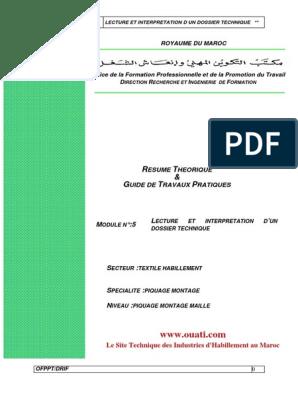 Et Interpretation pdf Dossier 10 Q Lecture Technique Du trChQBsdx