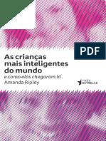 Amanda Ripley-As Crianças Mais Inteligentes Do Mundo - e Como Elas Chegaram Lá-Três Estrelas (2012)