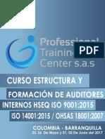 Brochure Curso Estructura -Formacion de Auditores
