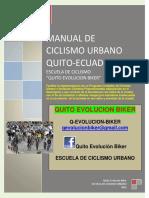 Manual de Ciclismo Urbano Quito- Completo y Editado 2017