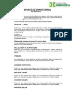 Protocolo de Tesis Cuantitativa 2017