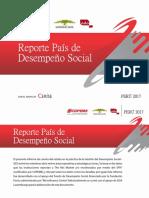Reporte País de Desempeño Social