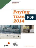 Pwc Paying Taxes 2014