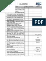 Checklist T4