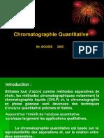 7- Chromatoraphie Quantitative
