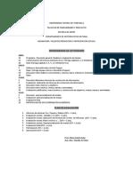 Cronograma y Evaluación Taller de Participación Social 1