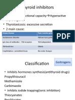 Thyroid Inhibitors