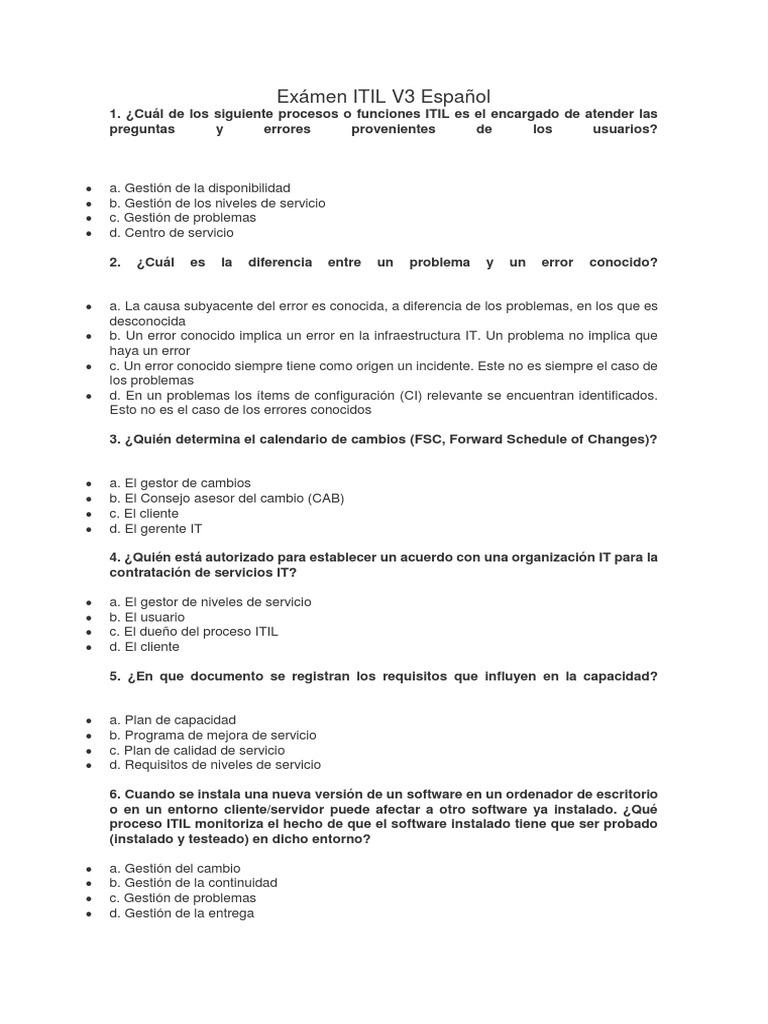 Lujo Compruebe Certificación Itil Ideas - Cómo conseguir mi ...