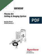 Powermax1650 Operator Manual