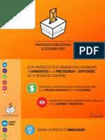 Propuesta Publicidad Elecciones 2017
