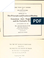 1922 Selige Principle of Practical Healing by Conscious Auto Suggestion