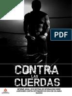 Contra las cuerdas. Informe Anual Español 220217227p