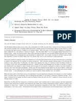 Tracking The World Economy... - 11/08/2010