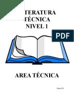 Descripción de Literatura tecnica caterpillar