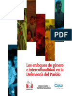 DP Folleto Genero Interculturalidad