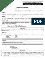 Td de Matemática - Aula 4 - Frente 1 - Versão 8