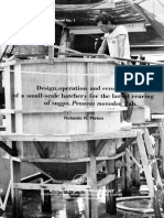 Design, operation and economics of a small-scale hatchery for the larval rearing of sugpo, Penaeus monodon Fab.