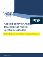 ABA Guidelines for ASD