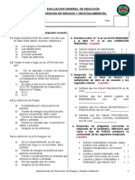 Evaluación Inducción General PdRGA CGMC