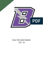 baxter bolts bands handbook