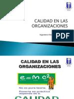 Organizaciones y Calidad 2011
