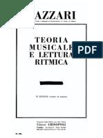 Lazzari, Teoria Musicale e Lettura Ritmica I
