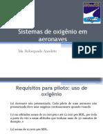 Aula 1 Sistemas de Oxigênio Em Aeronaves