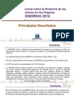 Encuesta Nacional Sobre La Dinámica de Las Relaciones en Los Hogares (ENDIREH) 2016