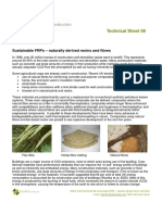 TS08 - Sustainable FRP - Naturally Derived Resins and Fibres