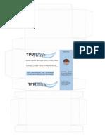 1 Arte Caixa TPM Azul - Com Parte Interna
