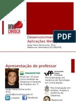 Apresentação - Desenvolvimento de Aplicações Web