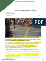 1.5 Razões Por Trás Da Crise de Segurança Pública No Brasil VER de NOVO