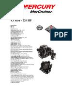 Mercruiser 4.3L Mpi Specs