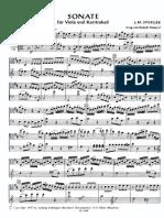 Sonata Para Viola y Contrabajo, Sperger