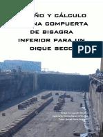 Trabajo completo, diseño y cálculo de una compuerta de bisagra inferior para un dique seco (3).pdf