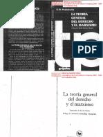 224912116 Pashukanis La Teoria General Del Derecho y El Marxismo 1