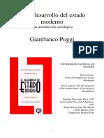 POGGI El desarrollo del Estado moderno cap.III y IV.pdf